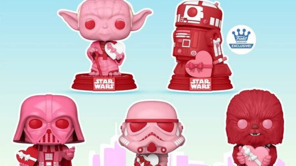 funko pop star wars san valentino