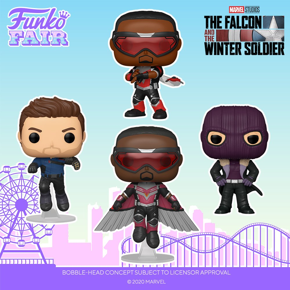 the falcon and the winter soldier funko pop!